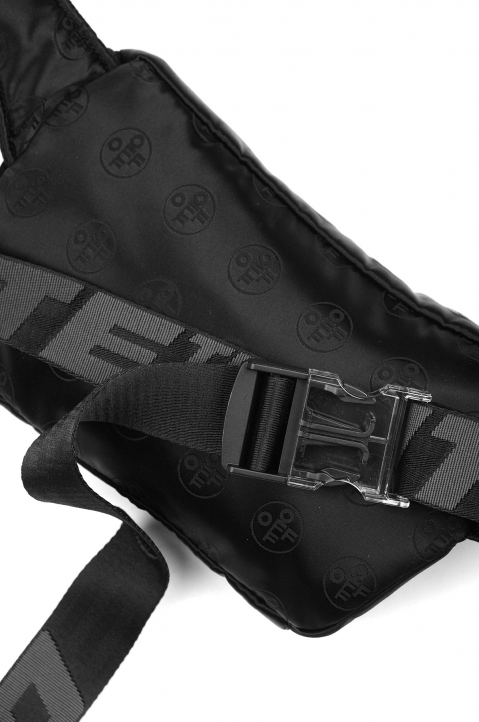 OFF-WHITE Monogram Jacquard Waist Bag 3