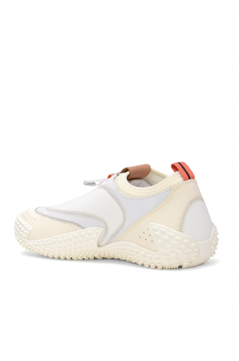 PALM ANGELS Model 0 White Slip-On Sneakers 2