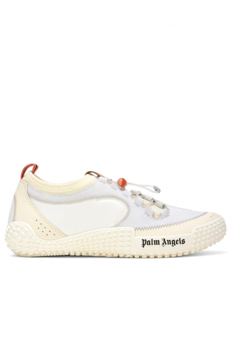PALM ANGELS Model 0 White Slip-On Sneakers 0