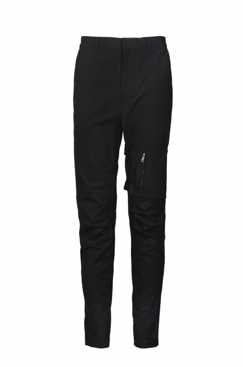 AMBUSH Black Pocket Strap Pants 0