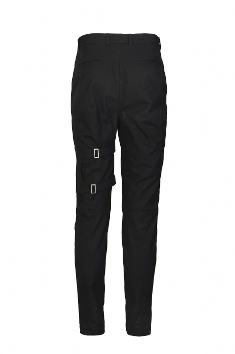 AMBUSH Black Pocket Strap Pants 1