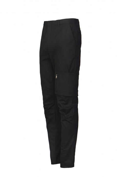 AMBUSH Black Pocket Strap Pants 2