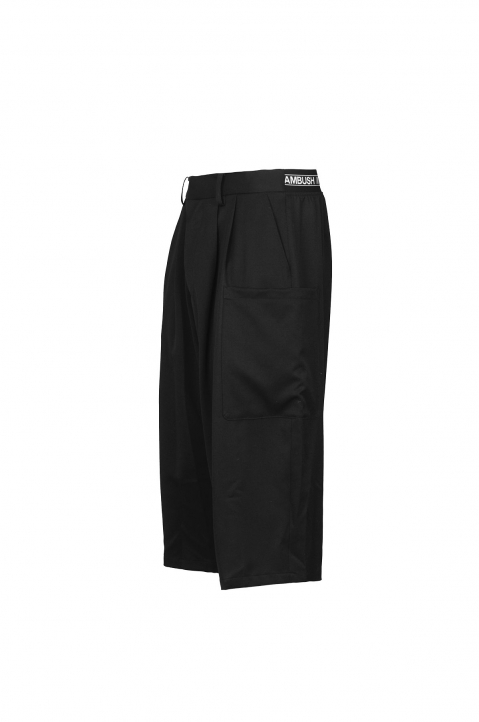 AMBUSH Black Wool Harem Pants 1