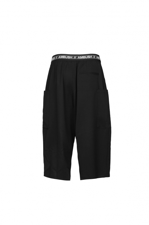 AMBUSH Black Wool Harem Pants 2