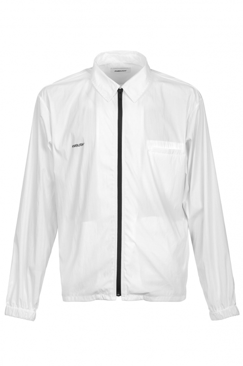 AMBUSH White Zipped Shirt Jacket 0