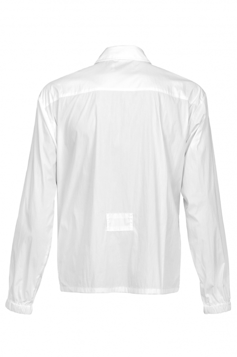 AMBUSH White Zipped Shirt Jacket 1