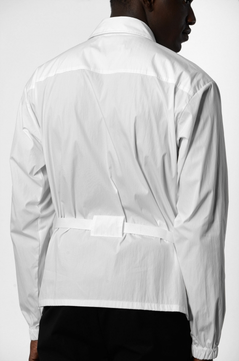 AMBUSH White Zipped Shirt Jacket 3