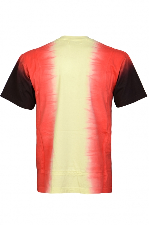 AMBUSH Yellow Tie Dye Panel Tee 1