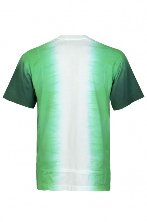 AMBUSH Green Tie Dye Panel Tee  1