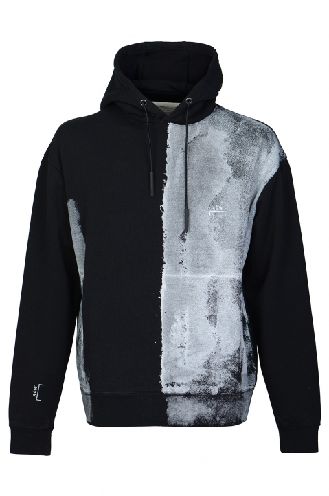A-COLD-WALL* Painted Black Hoodie 0