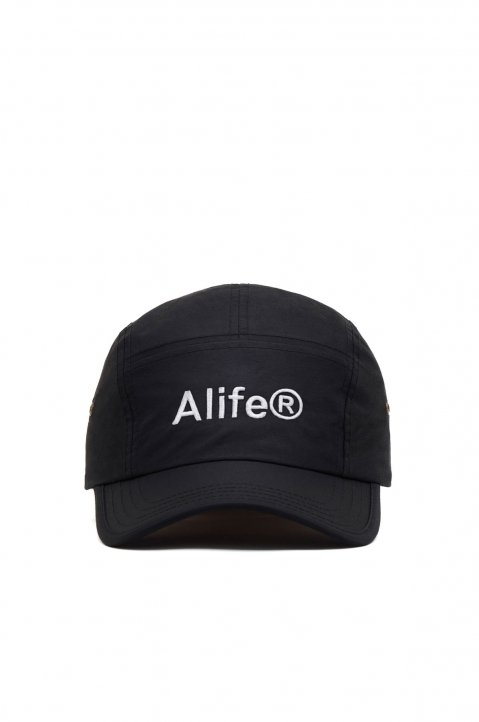 ALIFE Black 5-Panel Cap 0