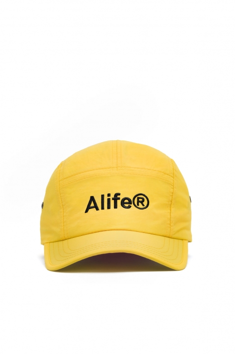 ALIFE Yellow 5-Panel Cap 0