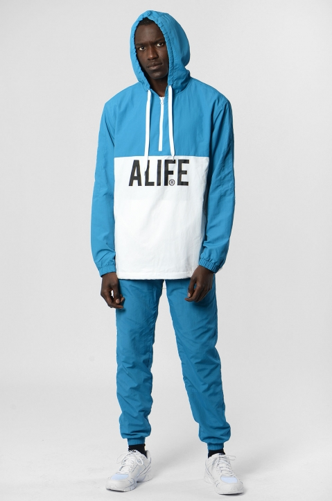 ALIFE Blue/White Trackpants 3
