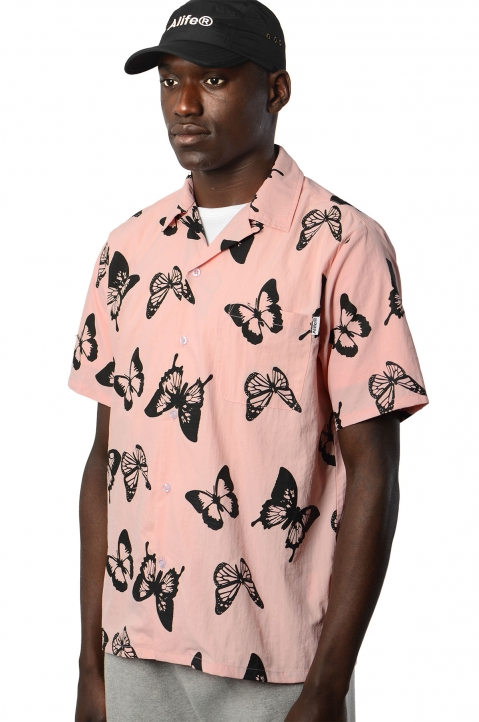 ALIFE Butterfly Short Sleeve Shirt 0