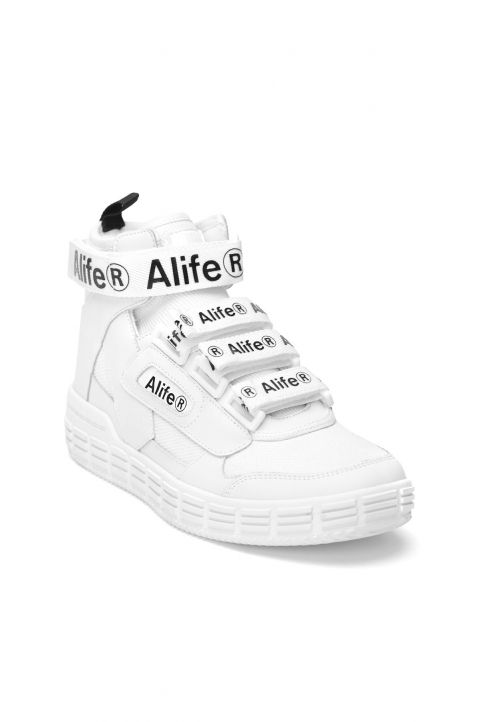 ALIFE Hi-Top White Sneakers 1
