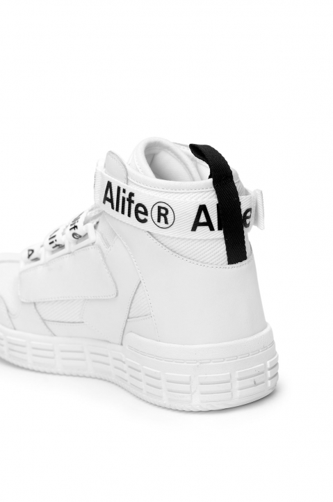 ALIFE Hi-Top White Sneakers 2