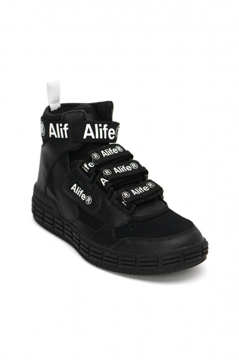 ALIFE The Rip Black Sneakers 1