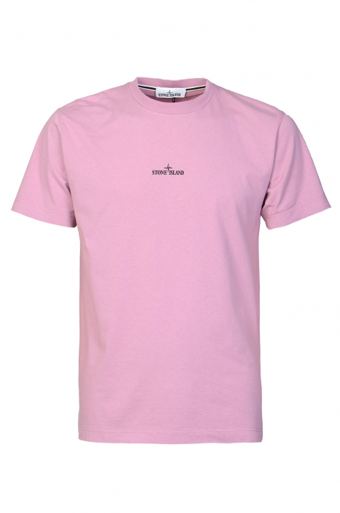 STONE ISLAND Pink Drone Two Tee 0