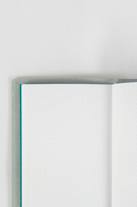mishmash Creative Log Sky Grey Notebook 2
