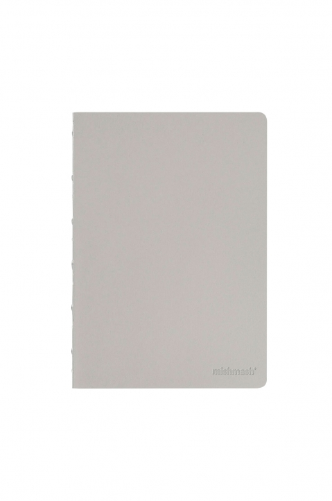 mishmash Naked Grey Notebook 0