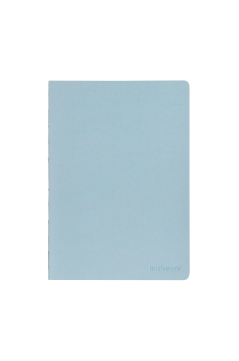 mishmash Naked Sky Blue Notebook  0