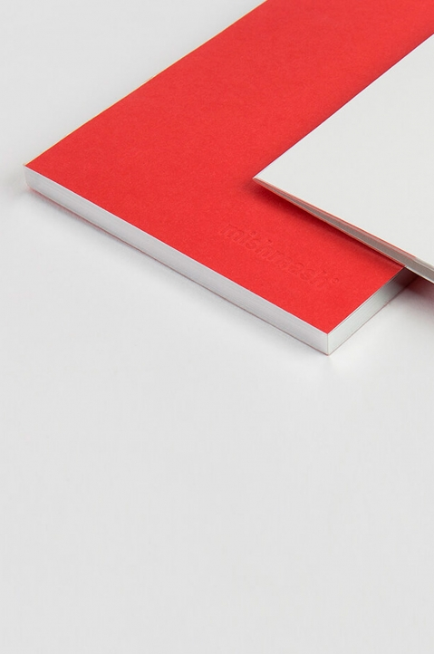 mishmash Holy Silver Bright Red Notebook  1