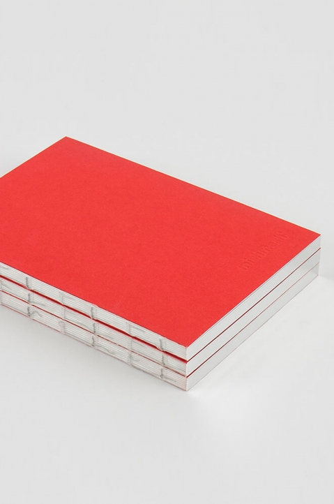 mishmash Holy Silver Bright Red Notebook  2