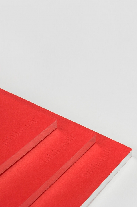 mishmash Holy Silver Bright Red Notebook  4