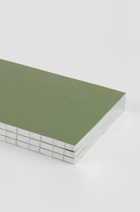 mishmash Holy Silver Mid Green Notebook 1