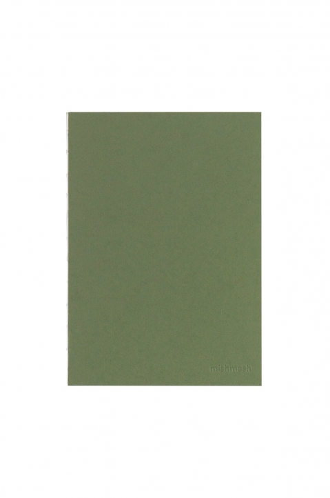 mishmash Holy Silver Mid Green Notebook 0