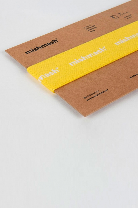 mishmash Notebook Strap Bright Yellow  1