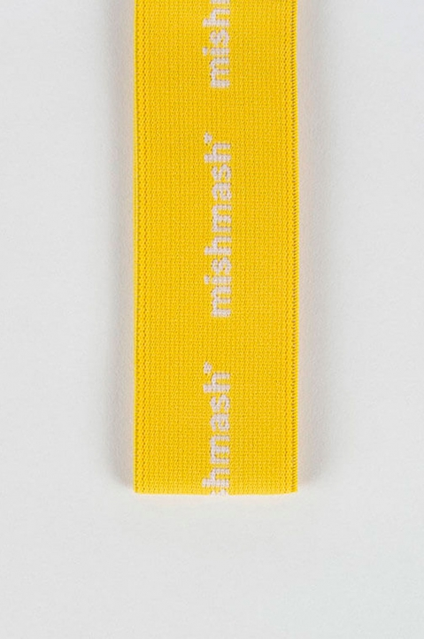 mishmash Notebook Strap Bright Yellow  2