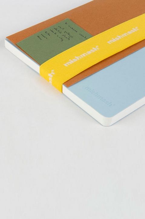 mishmash Notebook Strap Bright Yellow  3