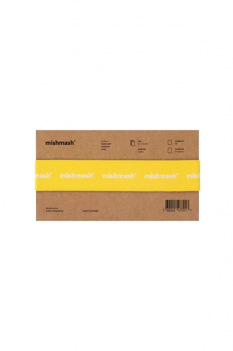 mishmash Notebook Strap Bright Yellow  0