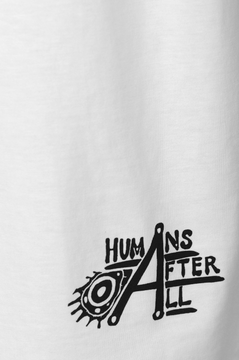 HUMANS AFTER ALL White Tee 3