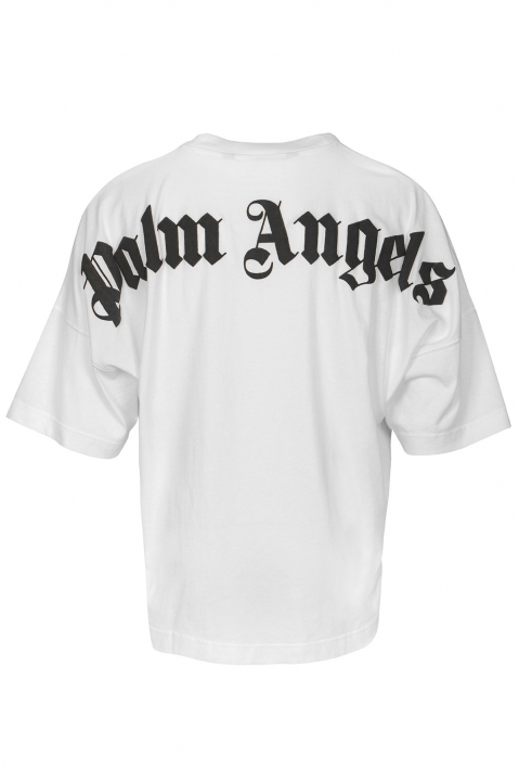 PALM ANGELS Classic Logo White Tee 1