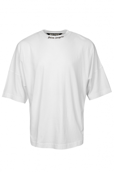 PALM ANGELS Classic Logo White Tee 0