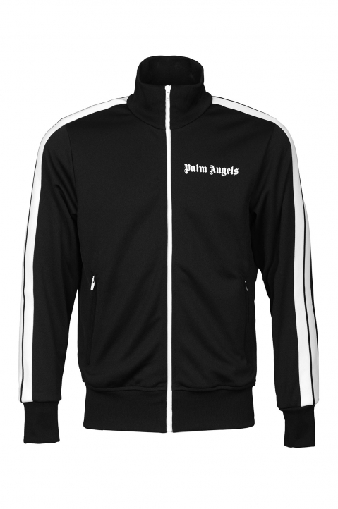 PALM ANGELS Black Classic Track Jacket 0