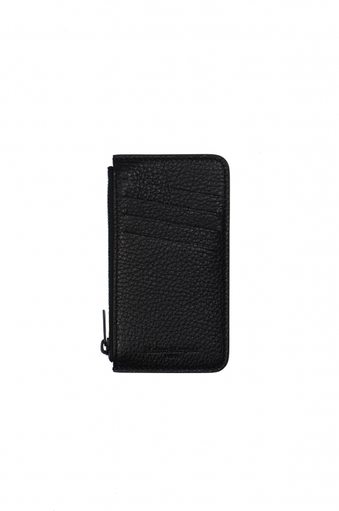MAISON MARGIELA Black Wallet Card Holder 1