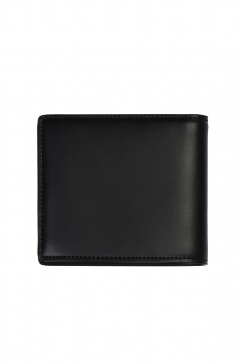 MAISON MARGIELA Smooth Black Leather Wallet 1