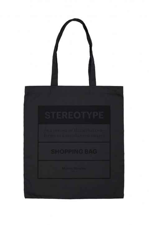 MAISON MARGIELA Grey Shopping Bag 0