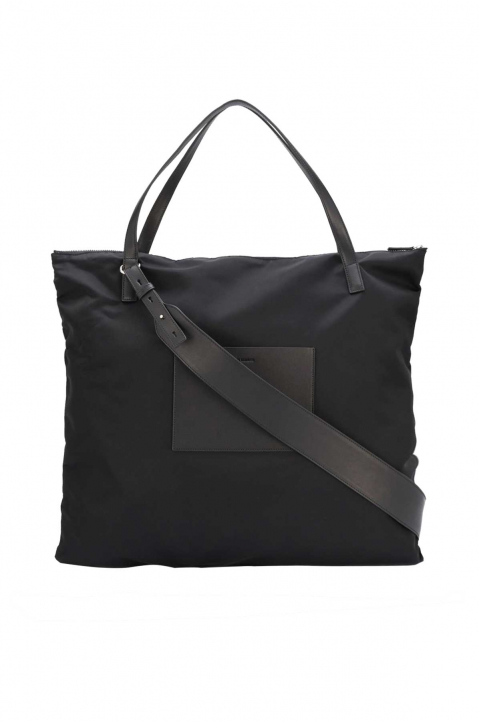 JIL SANDER Simple Strap Zip Tote Bag 0