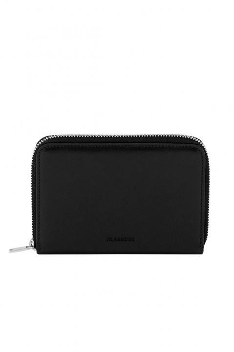 JIL SANDER Zip Around Leather Wallet 0
