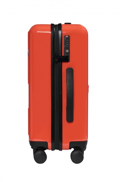 OFF-WHITE Quotes Orange Trolley Luggage  1