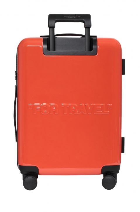OFF-WHITE Quotes Orange Trolley Luggage  2