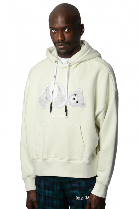 PALM ANGELS Ice Bear Hoodie  0