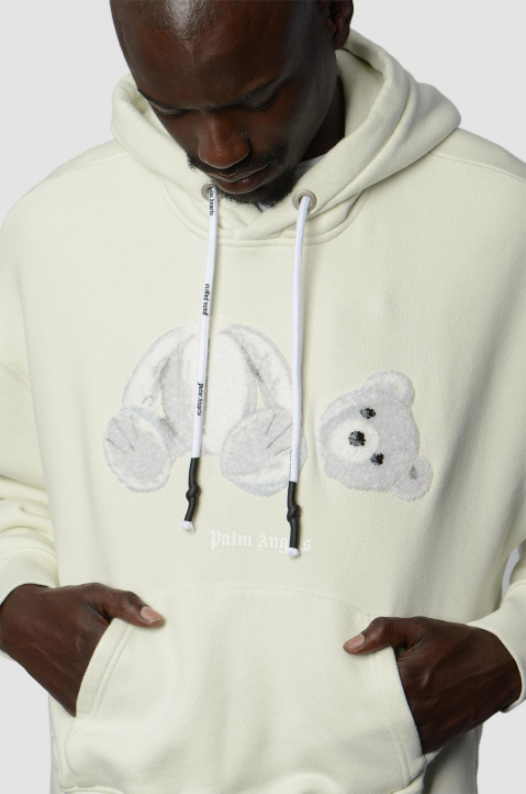 PALM ANGELS Ice Bear Hoodie  2