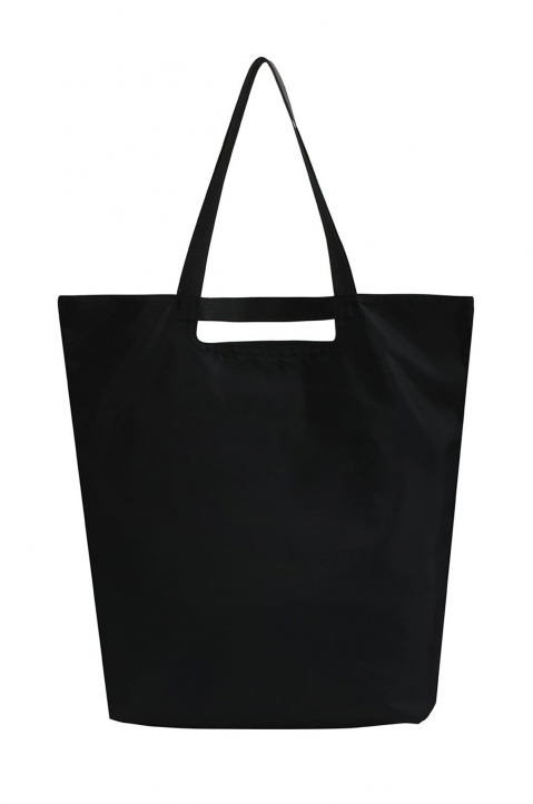 PALM ANGELS Black Logo Shopper Bag 2