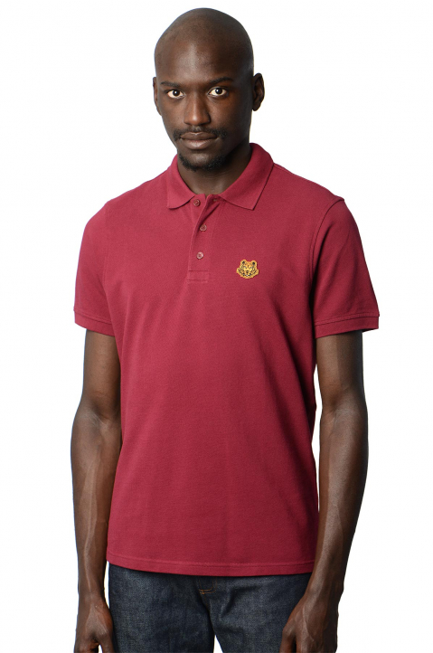 KENZO Fitted Cherry Tiger Polo-Shirt 0