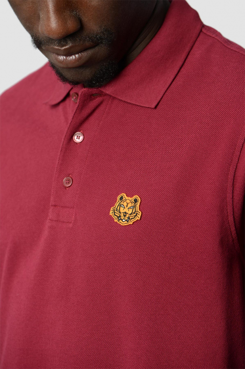 KENZO Fitted Cherry Tiger Polo-Shirt 2